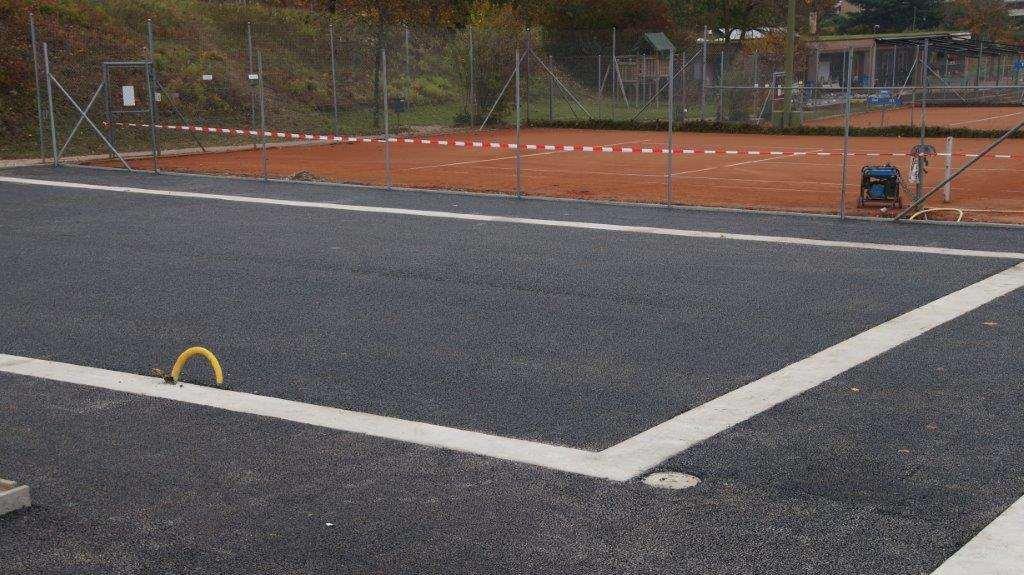 pista de padel construcción