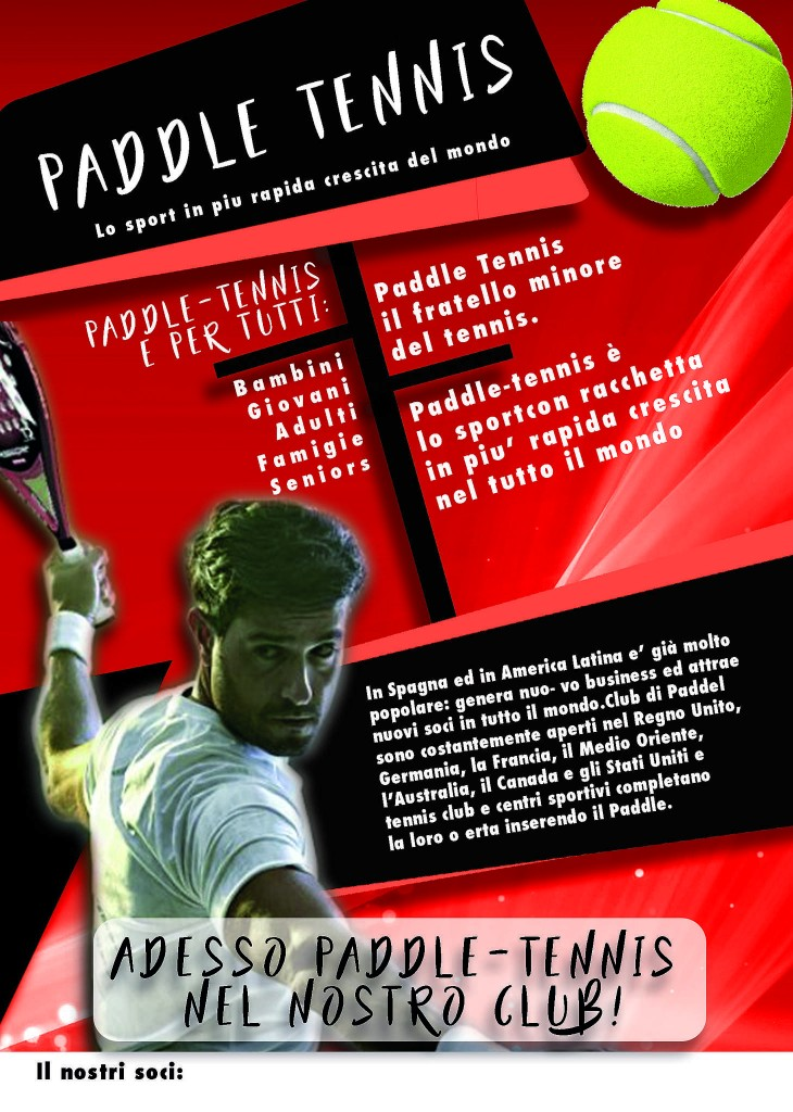 flyer padel red