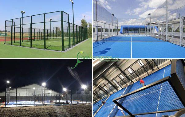 Kosten für Padel Courts